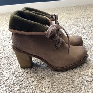 UGG Foldover Suede Boots